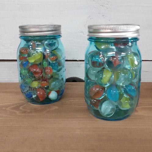 Marble Mason Jar