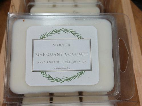 Dixon Co. Wax Melt Mahogany Coconut