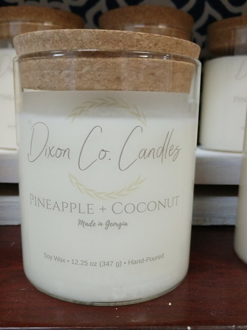 Dixon Co. Candles Pineapple Coconut