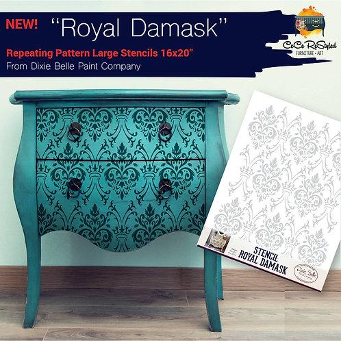 "Stencil ""Royal Dasmask"""