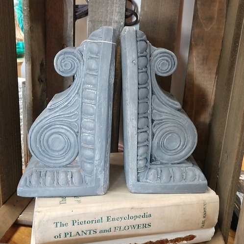 Gray Bookends
