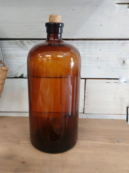 Vintage Veterinary Apothecary Jar