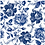 Thumbnail: Blue Sketched Floral
