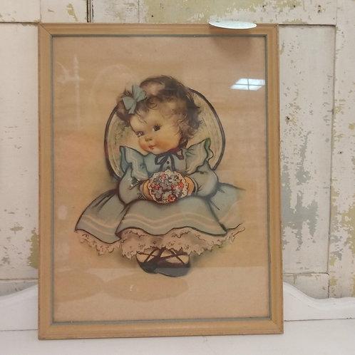 1940's Vintage Nursery Art