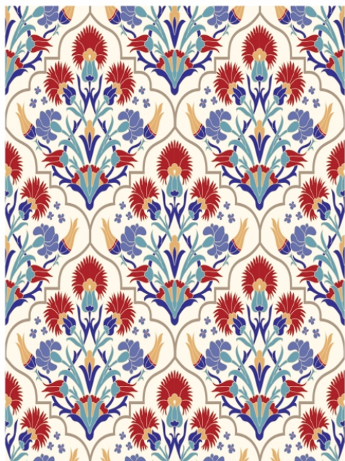 Whimsical Mediterranean decoupage papers