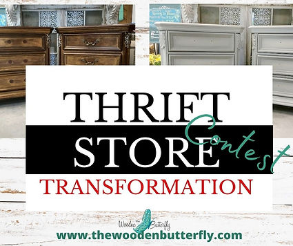 Thrift Store Transformation Contest post