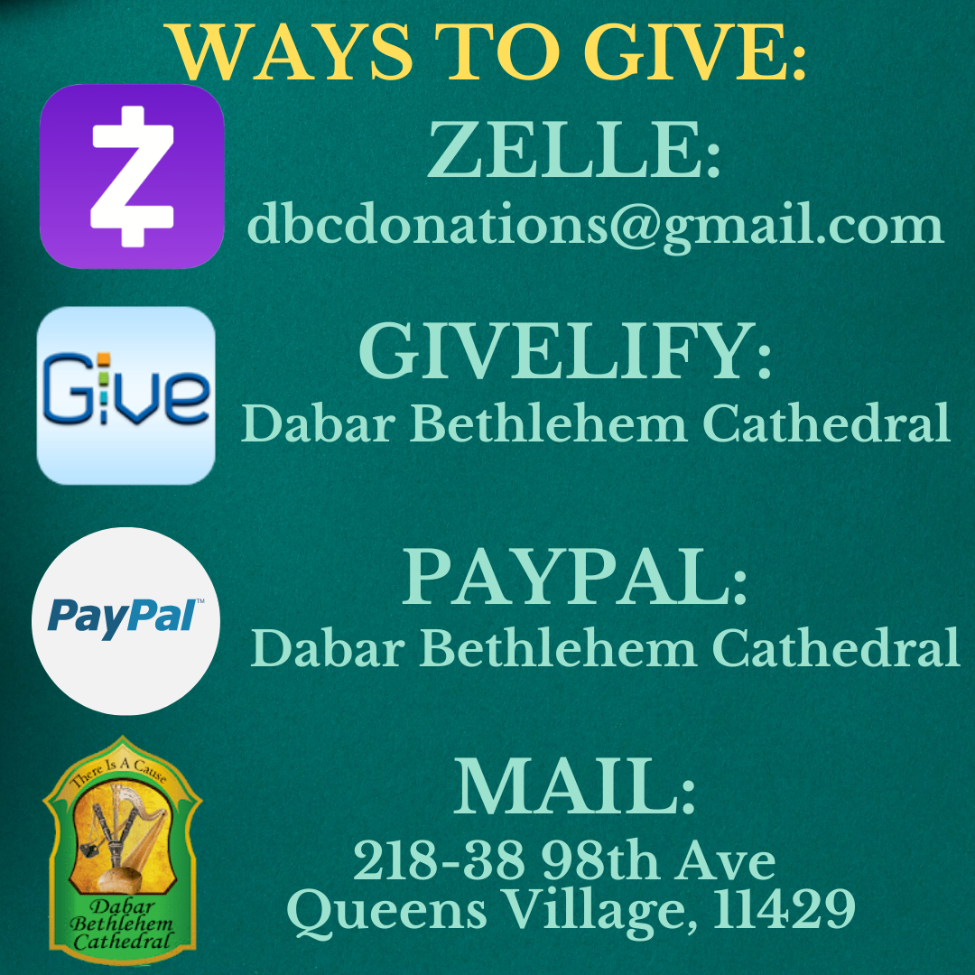 WAYS TO GIVE_
