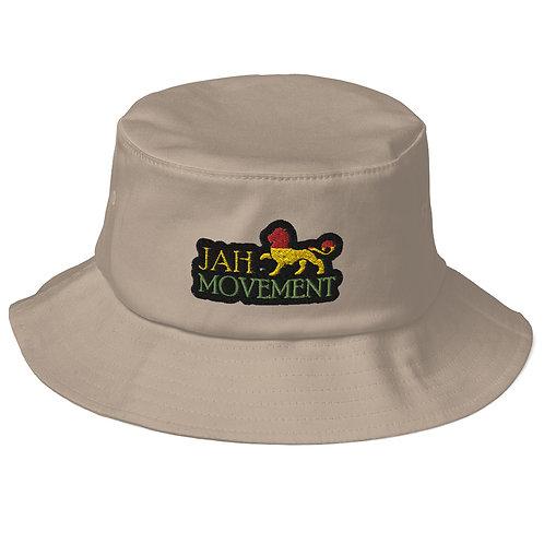 Old School Jah Movement Bucket Hat