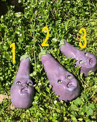 Single Eggplant bb's