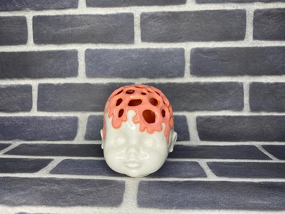Coral Brain Incense Holder