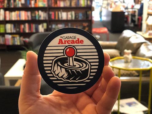 """Garage Arcade Sticker 3""""x3"""""""