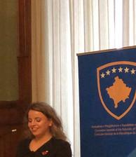 Speech on behalf of the Kosovo Consulate in General regarding the 20th Anniversary of NATO's intervention in Kosovo.