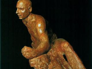 Man Arising from Stone