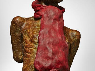 Man with a Red Scarf