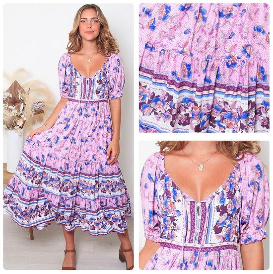 Millie 1/2 Sleeve Midi Dress!