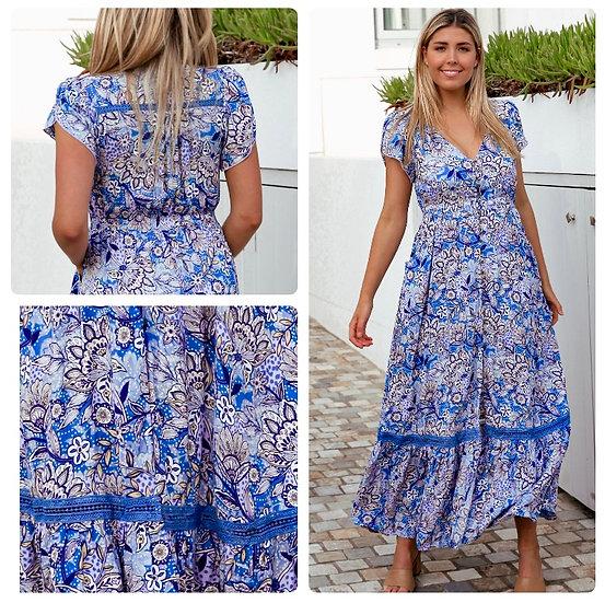 Monique V-Neck Maxi Dress!