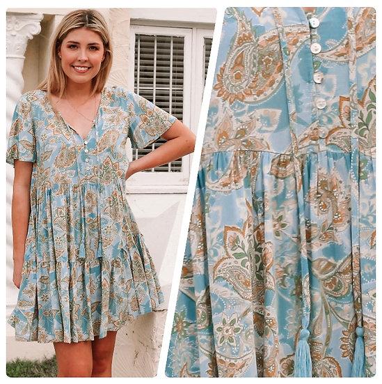 Tracey Short Sleeve Mini Dress!