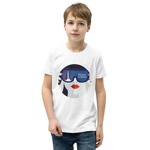 Youth Short Sleeve T-Shirt - White/Gray