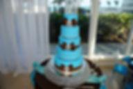 wedding, couple, venue, photography, catering, event planner, bridal bouquet, Rieken Weddings 9548227273, cake, blue