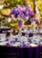 wedding, couple, venue, photography, catering, event planner, bridal bouquet, Rieken Weddings 9548227273, decor, purple flowers, centerpiece