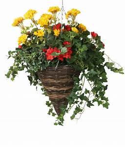 """14"""" Cone Hanging Basket"""
