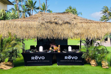 revo sunglasses display