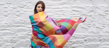 woman wrapped in sudara wrap
