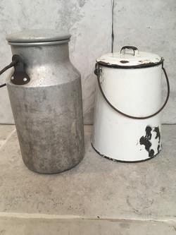 Vintage Milk Urns for hire