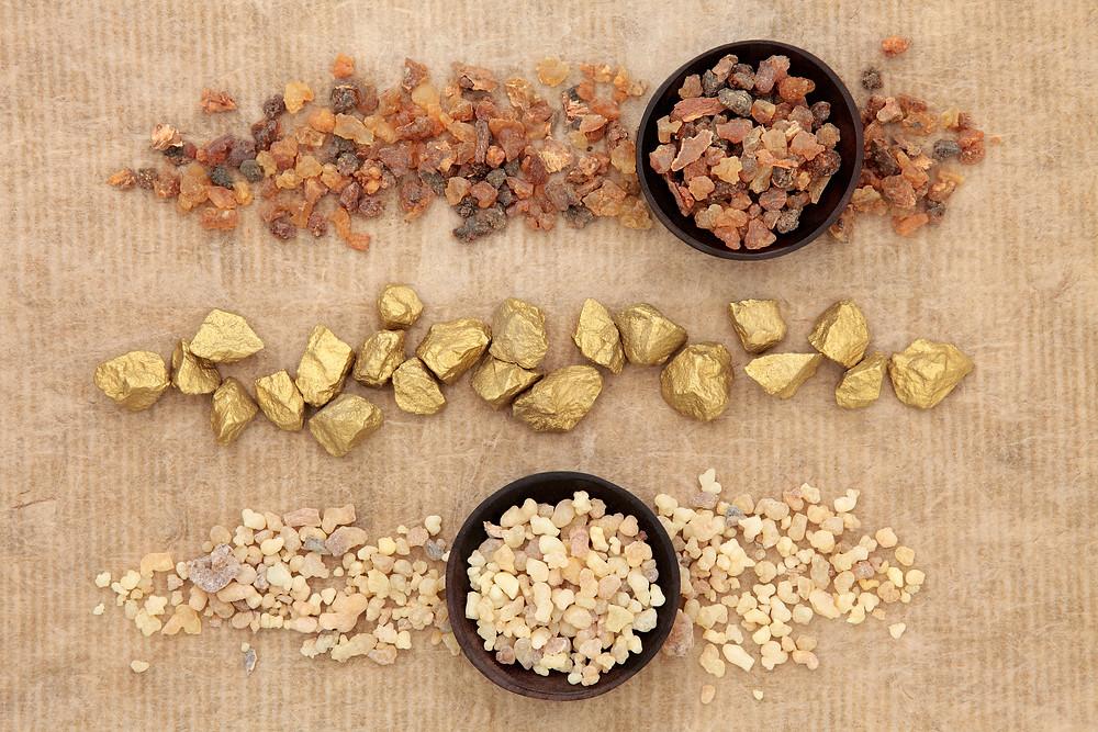 Myrrh, Gold & Frankincense