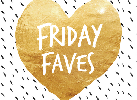 """""""FRIDAY FAVES"""" REVIEW BY AWARD WINNING BLOGGER - TALENTED LEX"""
