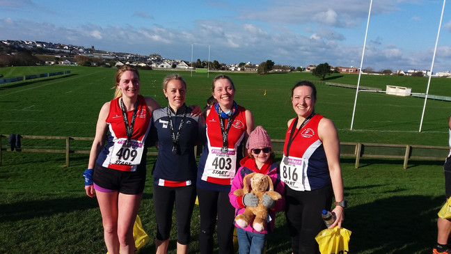 A wintry blast for the Newquay 10K