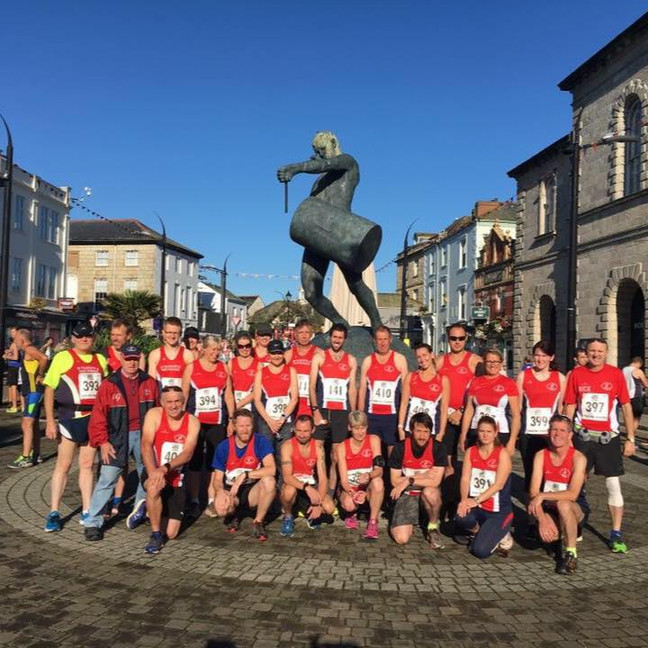 Great turnout for FRR at sunny Truro Half
