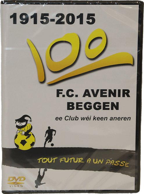 DVD 100 ans Avenir Beggen