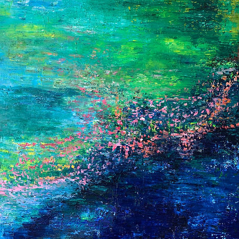 Maria-Victoria Checa Art | Abstract Paintings | Washington, DC | Acrylic and Oil Paintings | Bethesda, MD