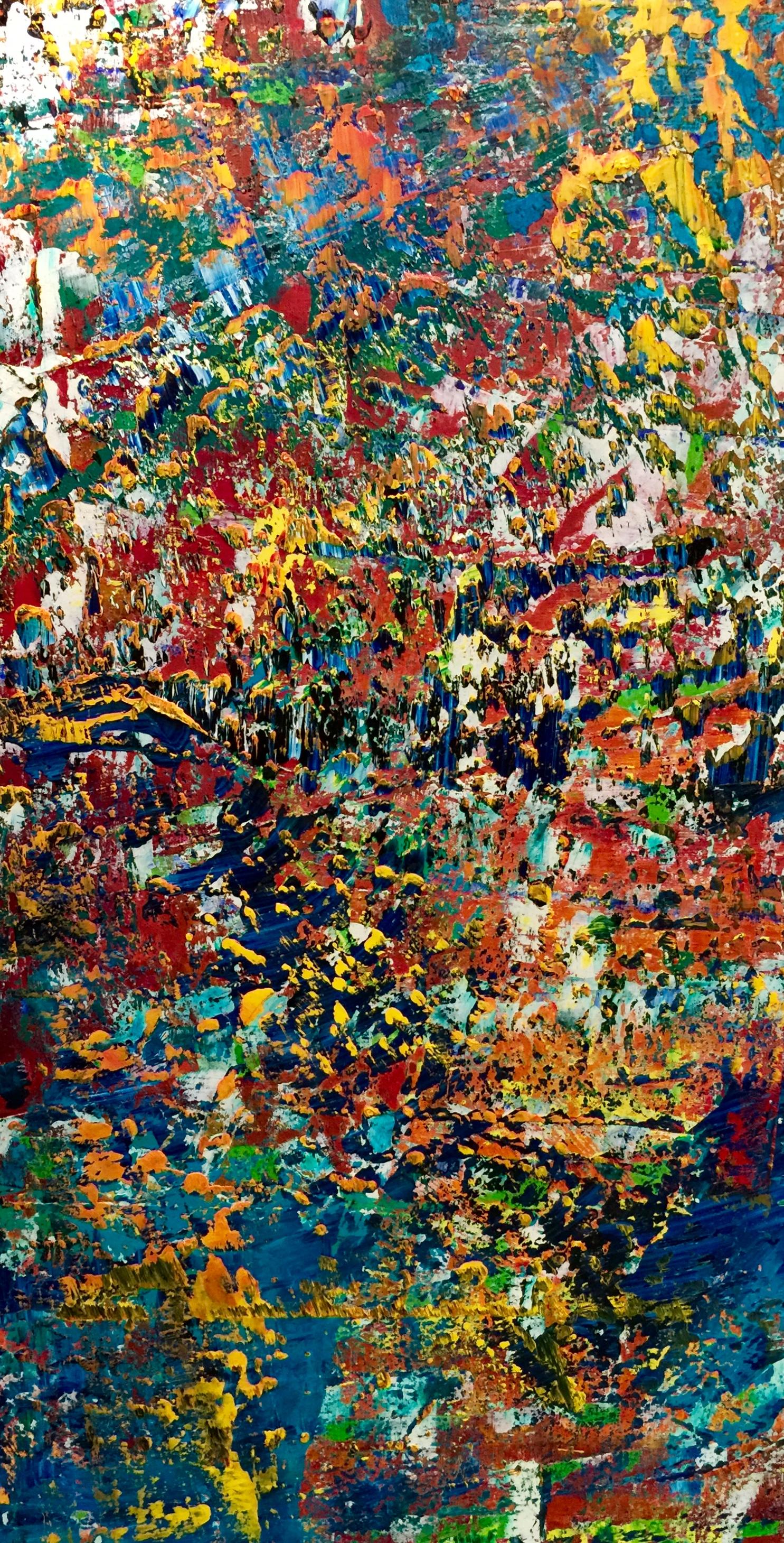 Richter à la Pollock