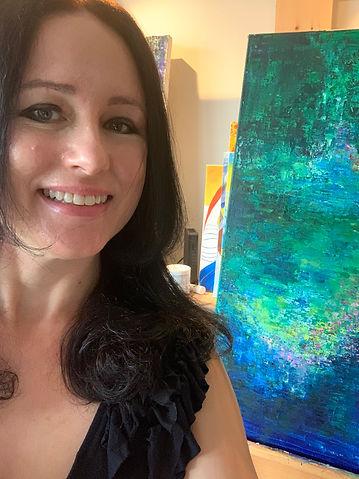Maria-Victoria Checa Art, Washington, DC