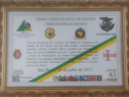 Ricardo Ferreira Premiação Turismo