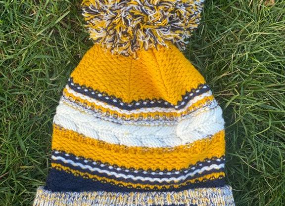 Winter hat - Striped
