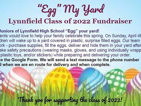 """LHS Juniors """"Spring Egg Fundraiser"""""""