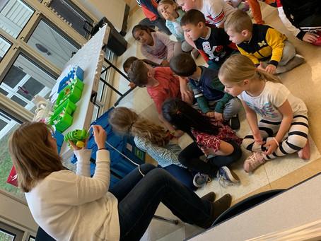 2019: Discovery Museum visits Kindergarten