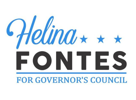 Helina Fontes, Candidate for Governor's Council, to speak to Lynnfield Democrats July 15