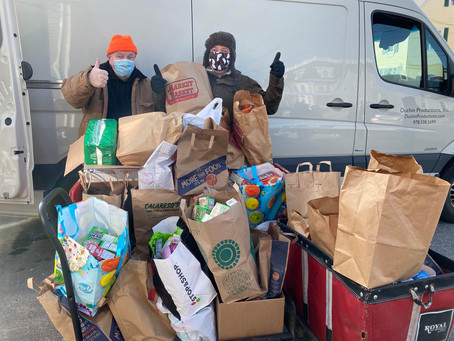 Haven from Hunger donations for MLK Jr day