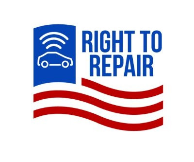 "Next speaker: Tommy Hickey from ""Right to Repair"""