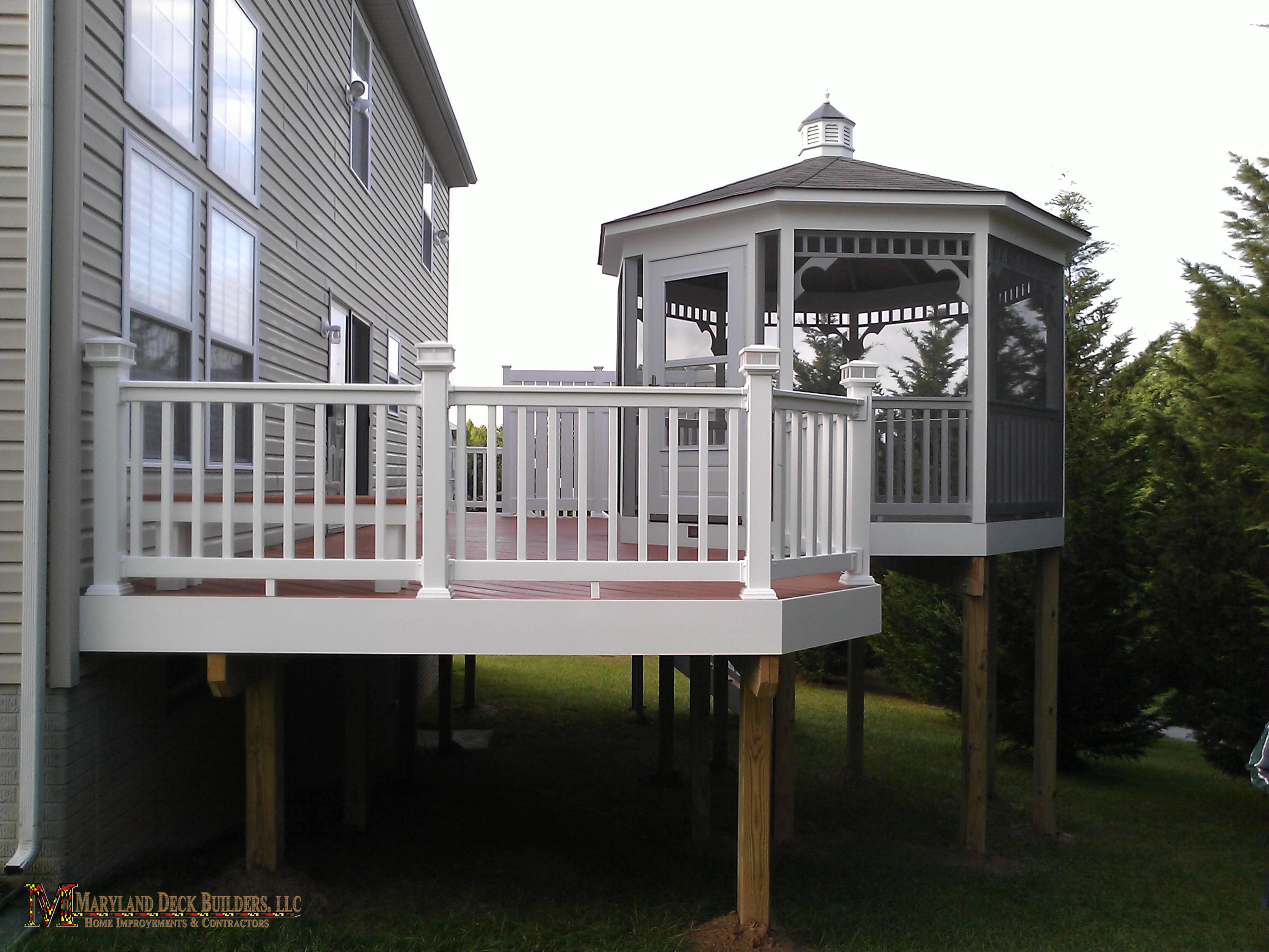 Maryland Deck Builders Llc L Md Decks I Porches I Fences