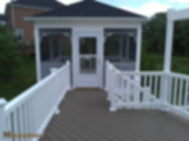 Screen Porch in Maryand