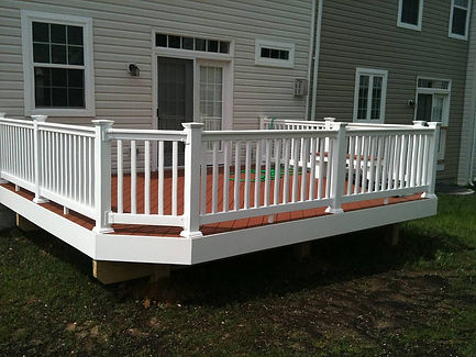 Composite Deck and Fence