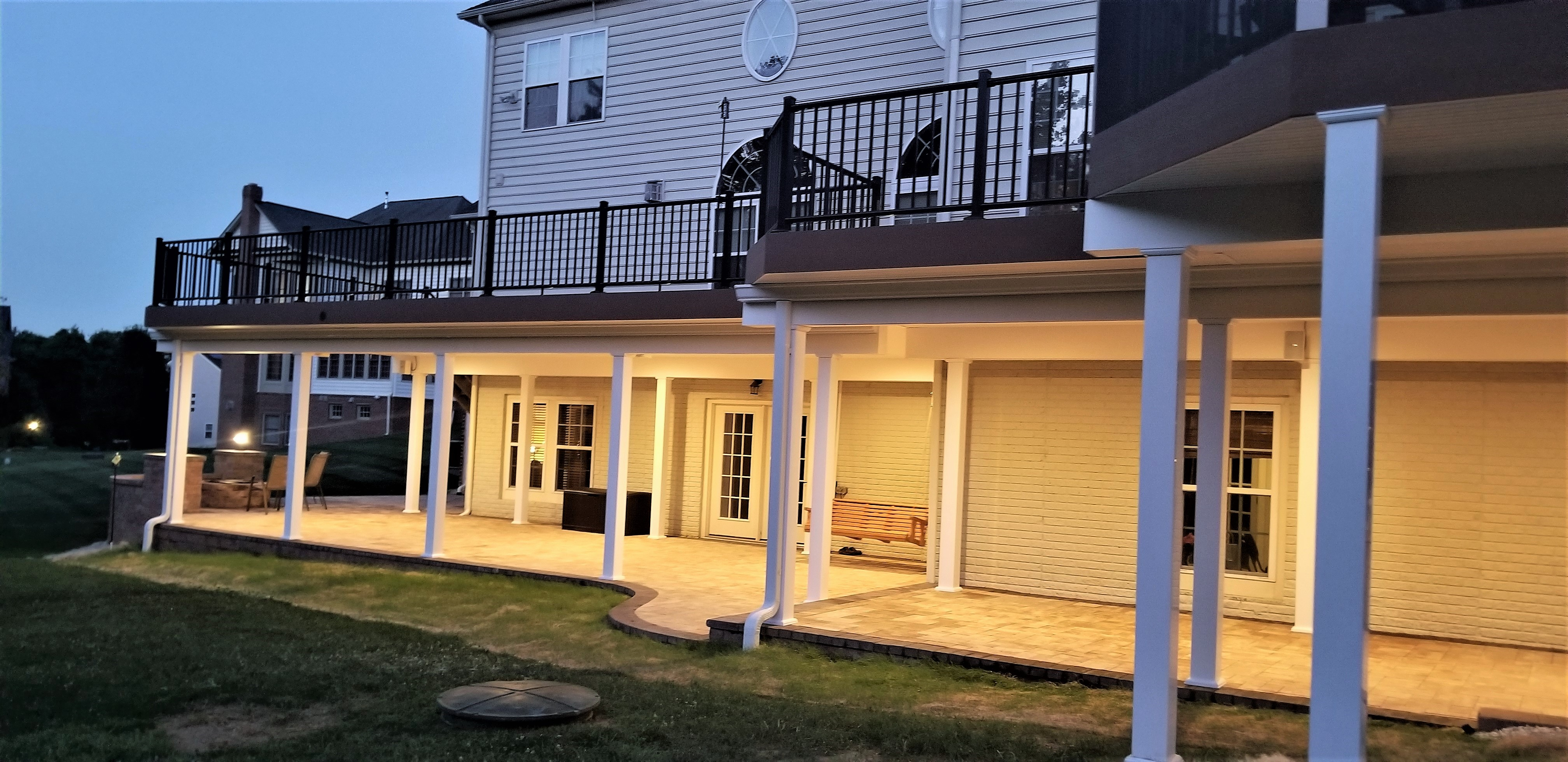 Custom Deck and Patio Woodstock Maryland