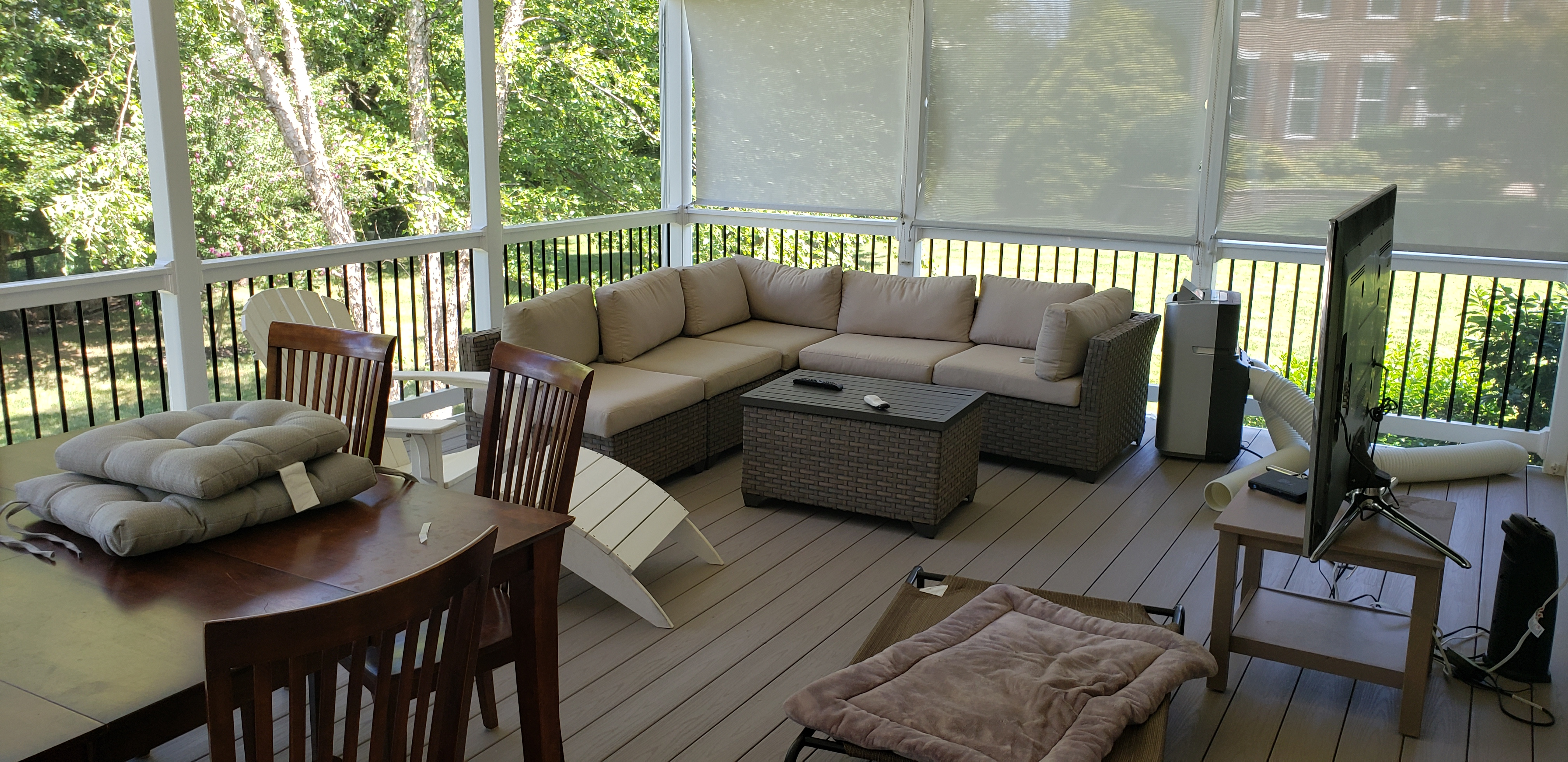 Azek Decks and Screen Porch