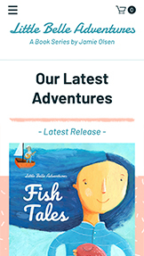 書籍・出版社 website templates – Children's Book Store