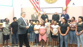 Shift Enterprise Academy Visits Bryan City Council